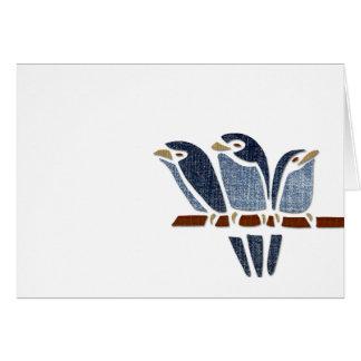 Three Birds Card