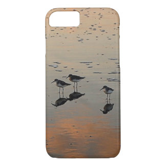 three birds on the beach iPhone 8/7 case
