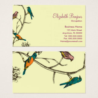 Three Birds Talking - Business Cards