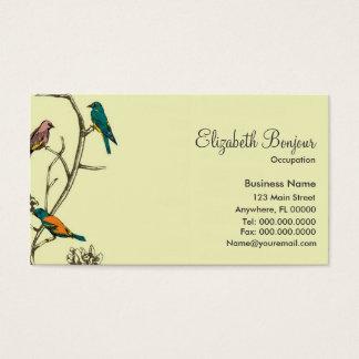 Three Birds Talking ~ Business Cards