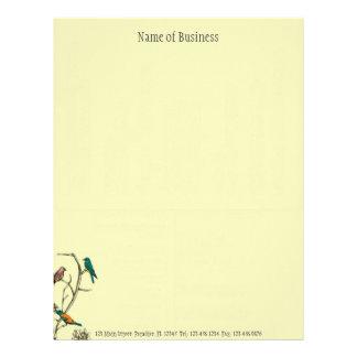 Three Birds Talking ~ Letterhead Business Work