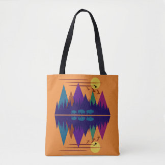 Three Bison Tote Bag