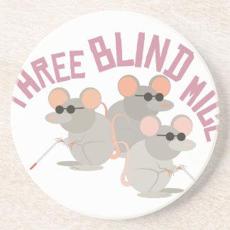 Three Blind Mice Coasters