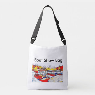 Three Boats boat show bag
