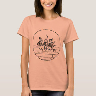 Three Brownies on a Fence T-Shirt