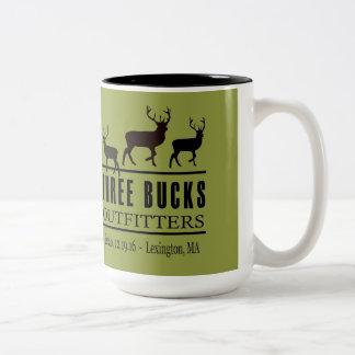 Three Bucks Outfitter Two Tone Coffee Mug