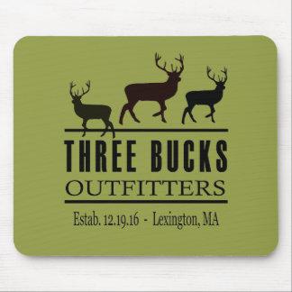 Three Bucks Outfitters Coffee Mug Mouse Pad