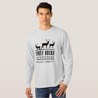 Three Bucks Outfitters Long Sleaved T-Shirt