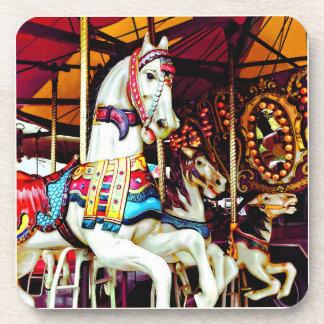 Three Carousel Horses Coaster