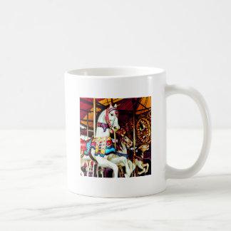 Three Carousel Horses Coffee Mug