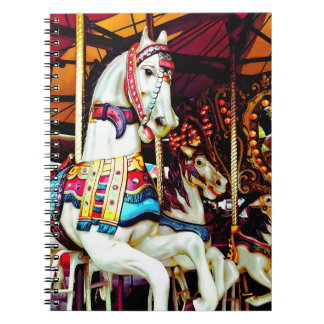 Three Carousel Horses Notebook