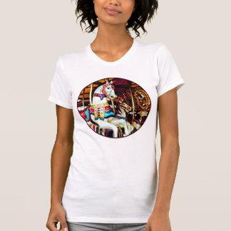 Three Carousel Horses T-Shirt