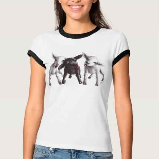 Three Cheeky Sheep T-Shirt