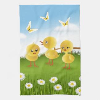Three Chickens Kitchen Towel