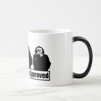 Three Chimps Approved Logo Morphing Mug