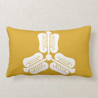 Three China round fan Lumbar Pillow