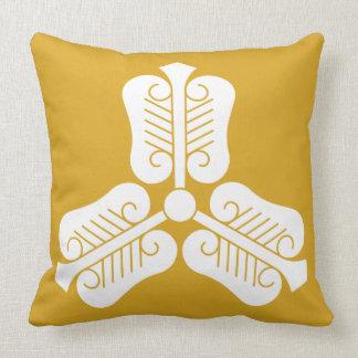 Three China round fan Throw Pillow