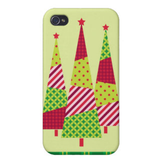 Three Christmas Trees Speck Case iPhone 4/4S Cases