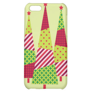 Three Christmas Trees Speck Case Cover For iPhone 5C