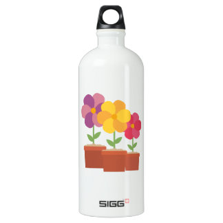 Three colorful Flowers Zo728 Water Bottle