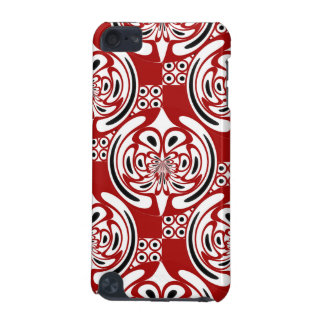 Three colors pattern iPod touch (5th generation) cover