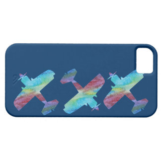 Three Colorwashed Biplanes iPhone 5 Cover