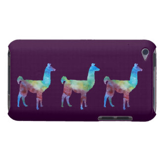 Three Colorwashed Llamas Barely There iPod Cases