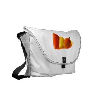 Three Cone White Habanero Peppers Orange Yellow Commuter Bag