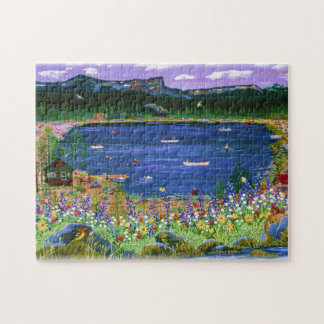 Three Creeks Lake Puzzle