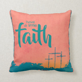 Three Crosses of Fatih Throw Pillow