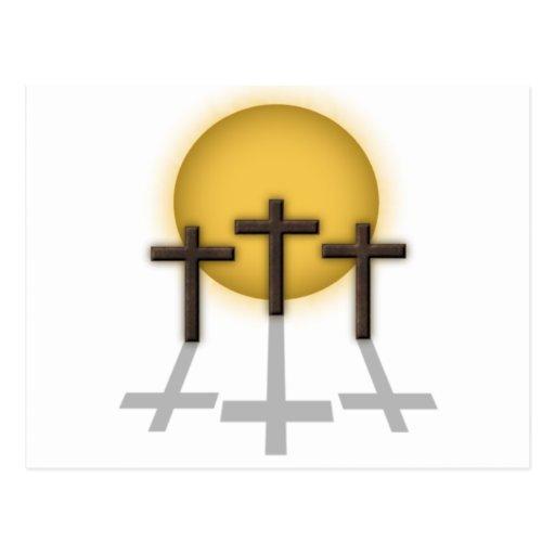 Three Crosses Postcards