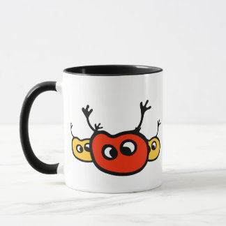 Three Cute Bugs Mug