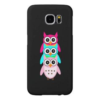 Three Cute Owls Samsung Galaxy S6 Case