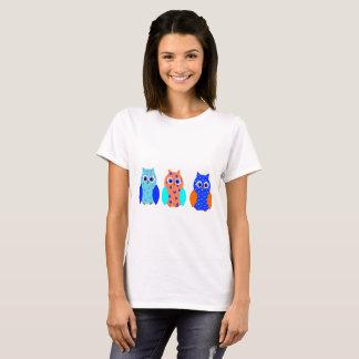 Three Cute Owls T-Shirt