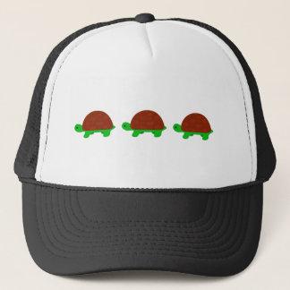 Three Cute turtles Trucker Hat
