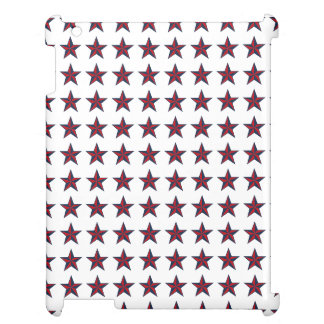 Three-D Patriotic Stars Cover For The iPad