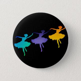Three Dancers 2 Inch Round Button