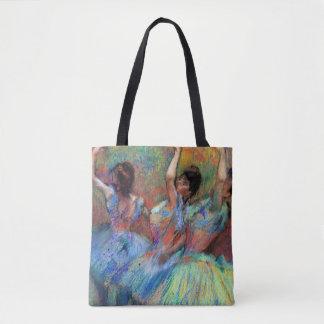 Three Dancers by Degas Tote Bag