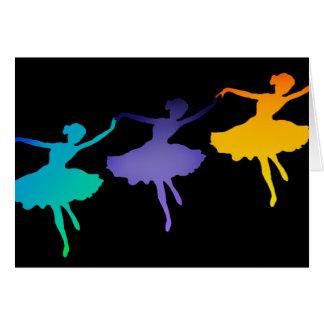 Three Dancers Card