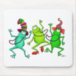 Three Dancing Frogs