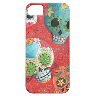 Three Day of The Dead Skulls iPhone 5 Cover
