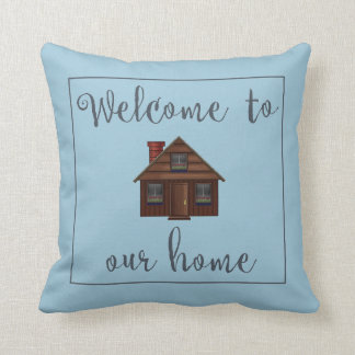 Three Day Welcome Throw Pillow