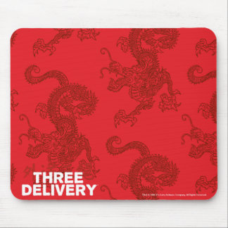 Three Delivery Dragon Mousepad