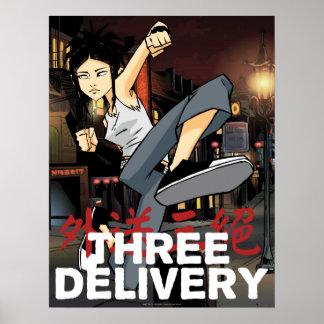 Three Delivery™ Sue Poster