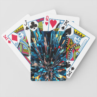 Three Dimensional Color Stacks Bicycle Playing Cards