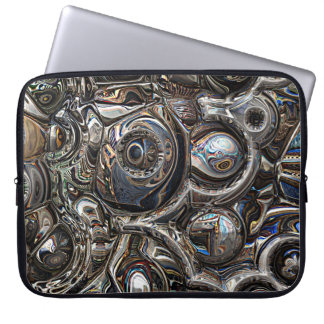 Three Dimensional Reflections Laptop Computer Sleeves