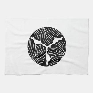 Three dividing ivy kitchen towel
