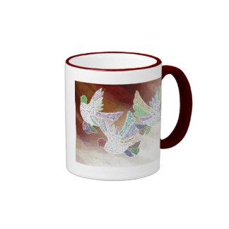 Three Doves Mug