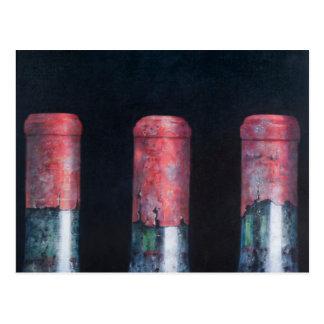 Three dusty clarets 2012 postcard