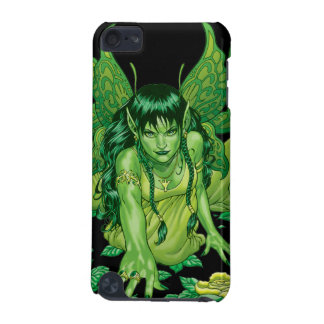Three Earth Fairies Fantasy Art by Al Rio iPod Touch (5th Generation) Cover